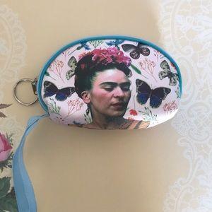 NWOT Frida Kahlo coin purse